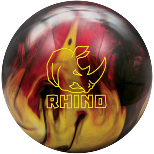rhino red black gold pearl